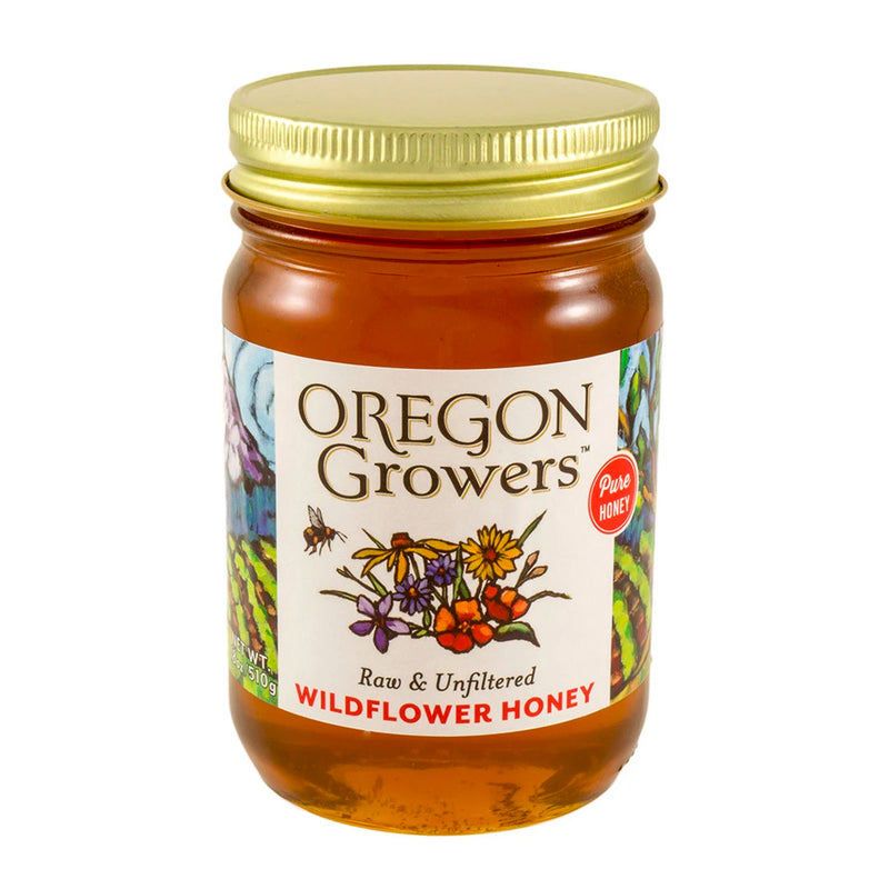 Wildflower Honey, 18 oz