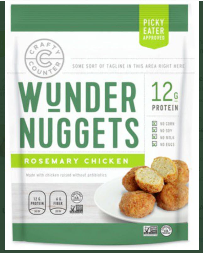 Rosemary Chicken Nuggets, 8 oz, 8 count