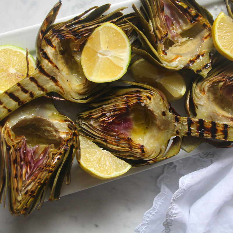 Grilled Artichokes with Stems, 3.2 oz