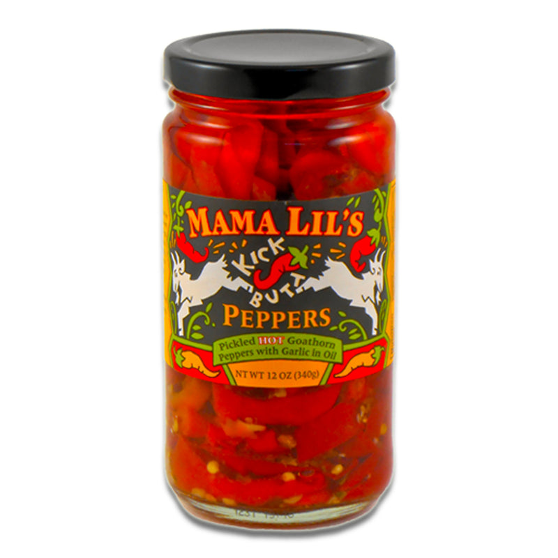 Spicy Oil-Cured Peppers, 12 oz