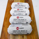 Antibiotic Free USDA Choice Black Angus Ground Beef, 4 pounds