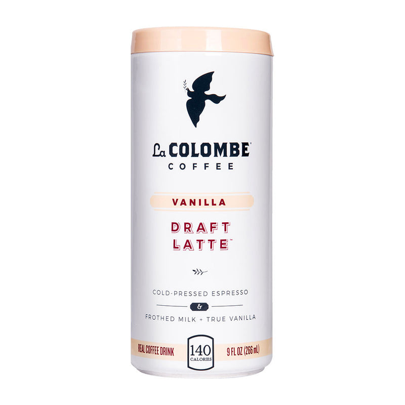 Vanilla Latte Coffee, 9 oz, 12 count