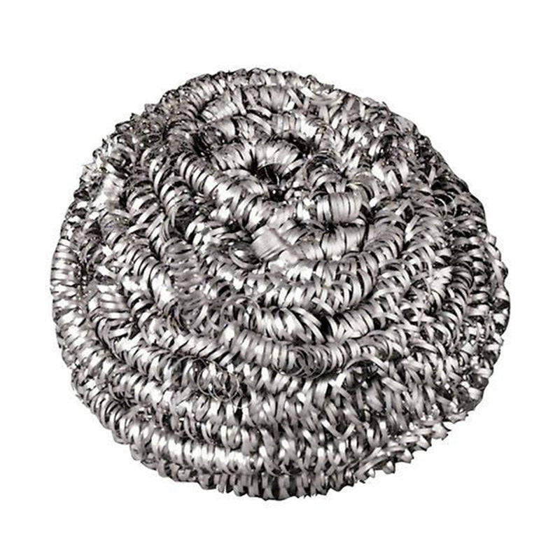Stainless Steel Scrubber, 12 count