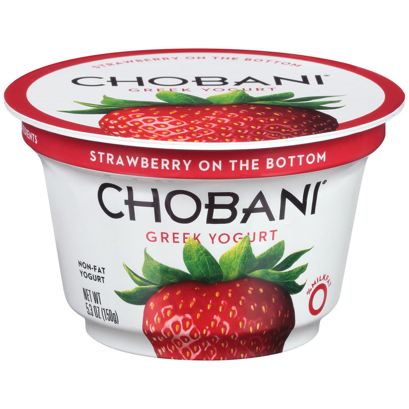 Strawberry Greek Yogurt, 5.3 oz, 12 count