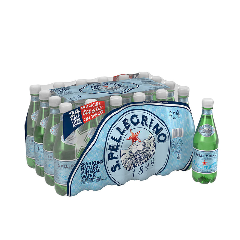 Sparkling Water, 500 mL, 24 count