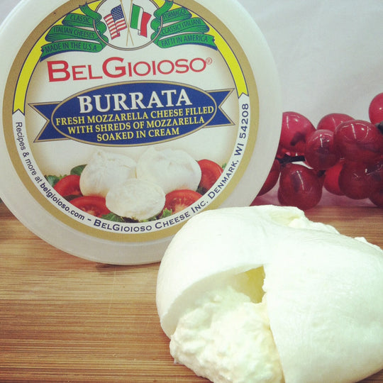 Burrata , 4 oz, 6 count