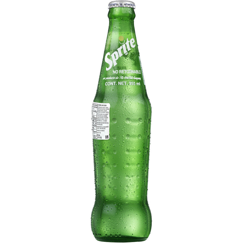 Sprite 8 Oz Glass Bottle, Six 4 count Packs