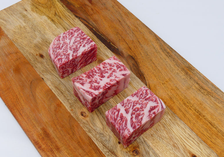 Japanese Snow-Aged Wagyu Strip Steak - 3 / 3 oz portions