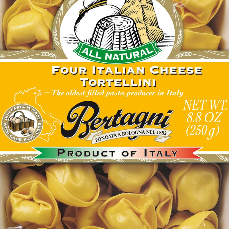 Four Cheese Tortellini, Frozen, 6/8.8 oz
