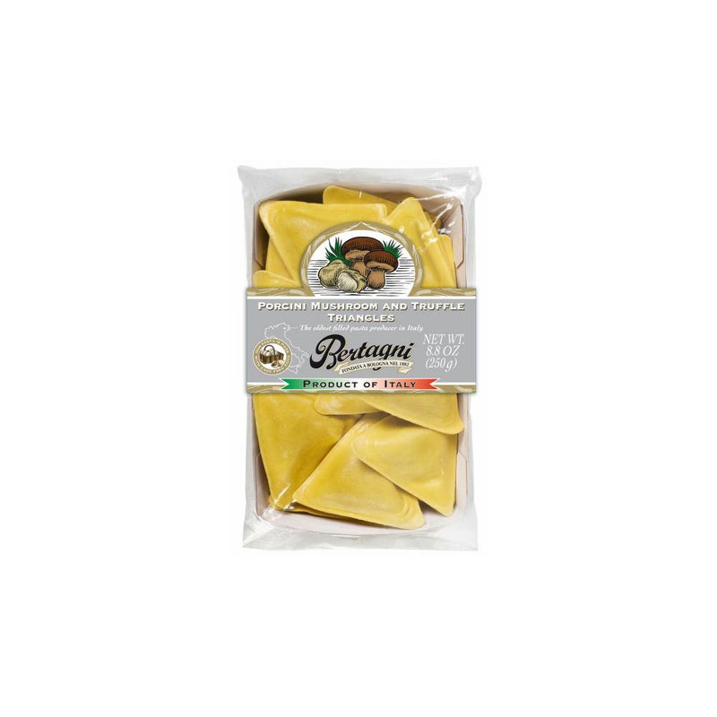 Porcini Mushroom and Truffle Triangles Ravioli, Frozen, 8.8 oz, 6 count
