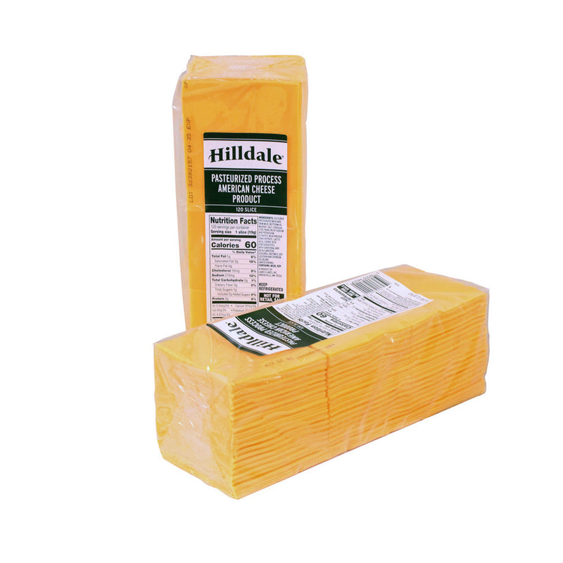 Sliced American Cheese 120 ct, 5 lb