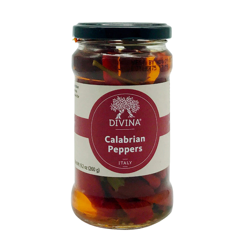 Chopped Calabrian Peppers, 9.2 oz, 6 count