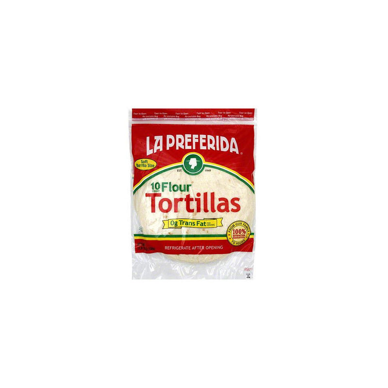 Four Tortillas, 12 Piece, 18 count
