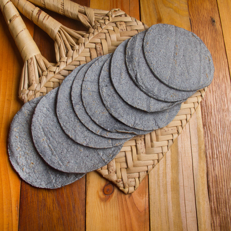 "Blue Corn Tortillas 6"", 120 Piece, 6 count"