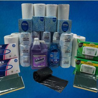Paper & Cleaning Product Kit- Family Pack
