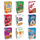 Assorted Breakfast Cereals, 1 oz, 72 count