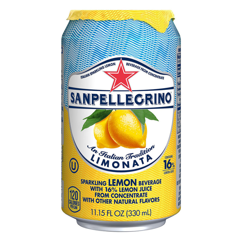 Sparkling Lemon Beverage All Natural , 11.5 oz, 24 count