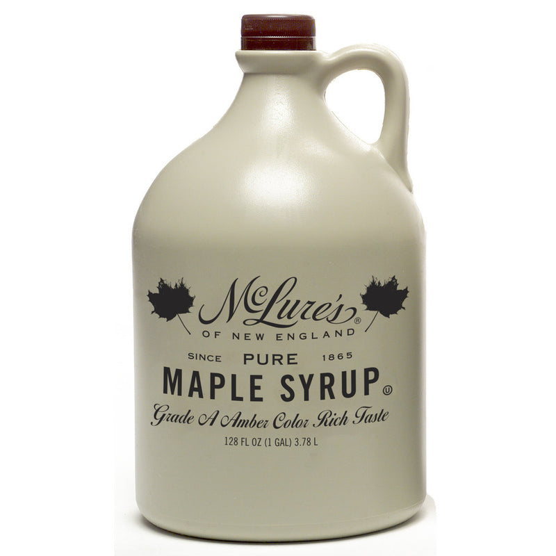 Pure Maple Syrup, Grade A Amber, 1 gallon
