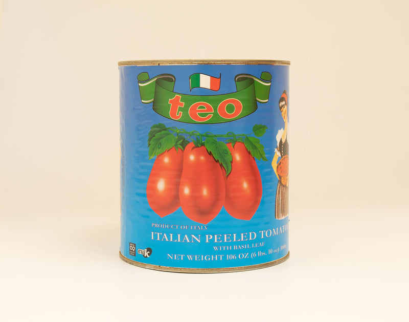 Italian Plum Tomatoes, 7 lb Can, 6 count