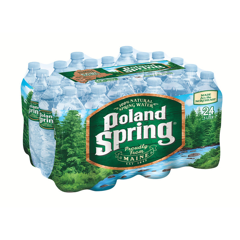 Natural Spring Water, 24/500 mL
