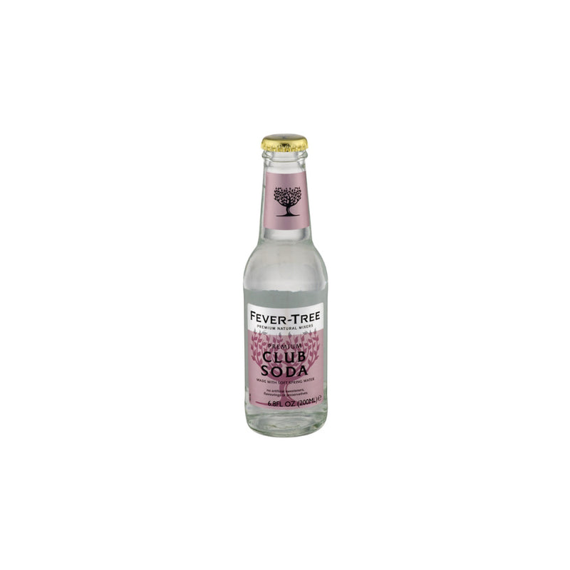 Club Soda, 200 mL, 24 count