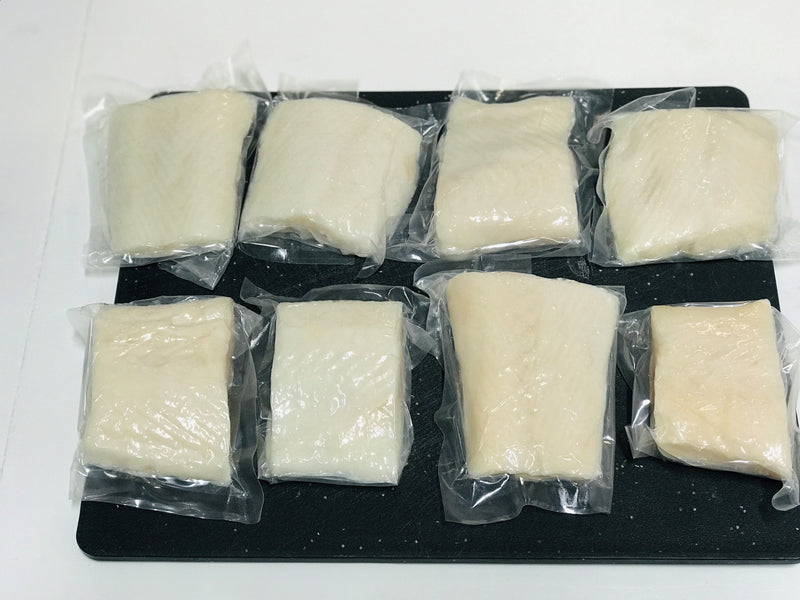 Wild Caught Halibut Filets, 8 / 6oz