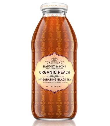 Peach Flavored Iced Tea, 16 oz, 12 count