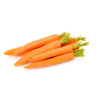 Baby Carrots Peeled With Tops, 5 lb