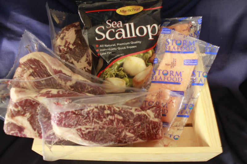 Steak And Seafood Family Pack A, Assortment