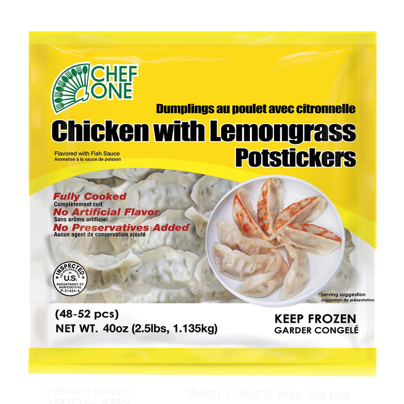 Chicken Lemongrass Dumpling, 150 count