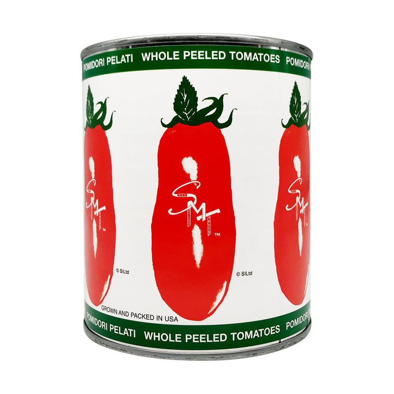 Canned Whole Peeled Tomatoes, 28 oz, 12 count