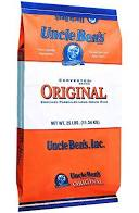 Uncle Bens Rice Long Grain, 25 lb