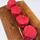 USDA Choice Grassfed Filet, Four 6 oz portions