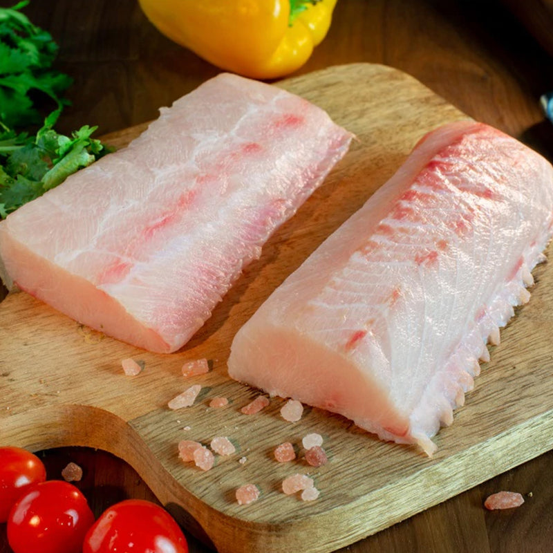 Blue Cobia 6 Oz Portions, 10 lb
