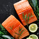 Norwegian Salmon, 6 oz Portions, 5 lb