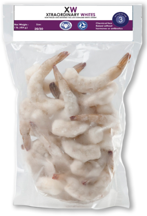 Shrimp Lovers Box, 2 lb, 5 count