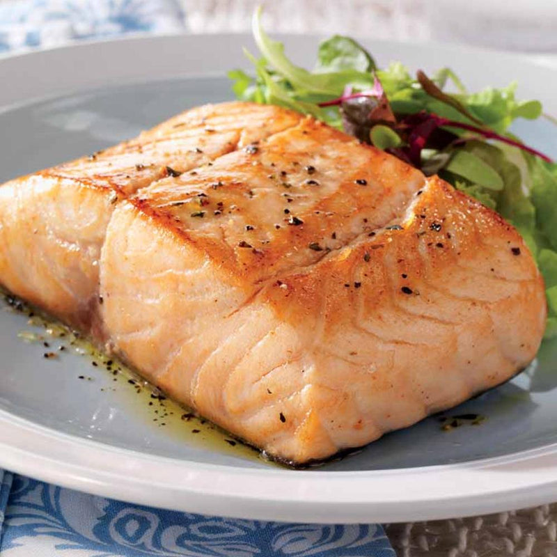 Atlantic Salmon Portions - 5 Oz, 16 per