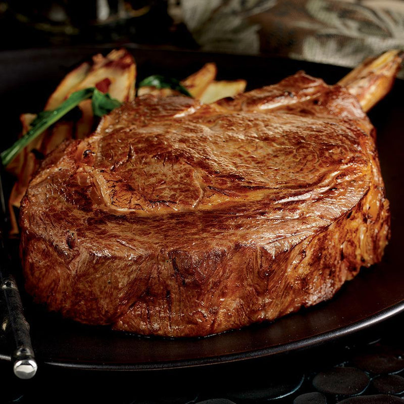 Prime Bone-in Frenched Rib Steaks, Four 20-22 oz