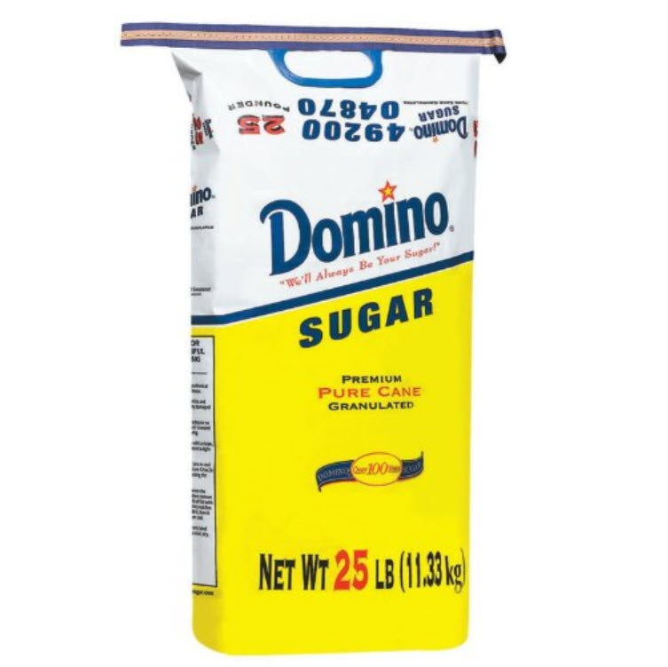 Granulated Sugar, 25 lb