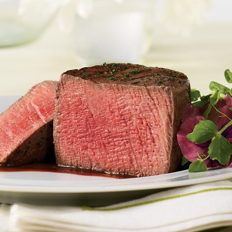 Beef Tenderloin Filet Mignon - 6 Oz, 8 per