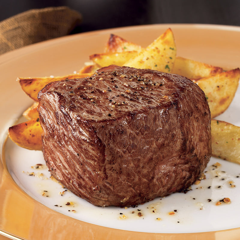 Beef Top Sirloin Steak - 6 Oz, 8 per
