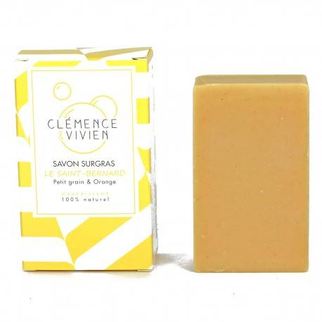 Savon à froid Orange & Curcuma - J'adore bio