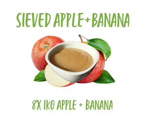 Sieved Apple/Banana 8x1KG
