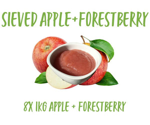 Sieved Apple/Forestberry 8x1KG