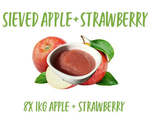 Sieved Apple/Strawberry 8x1KG