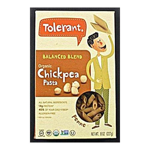 TOLERANT: Organic Chickpea Pasta Balanced Blend, 8 oz Limited Stock