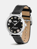 Delancey Ss 36 Charm Dial Leather Strap