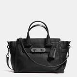 Soft Grain Leather Coach Soft Swagger
