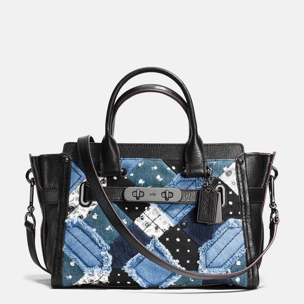 Canyon Quilt In Denim Coach Swagger 27