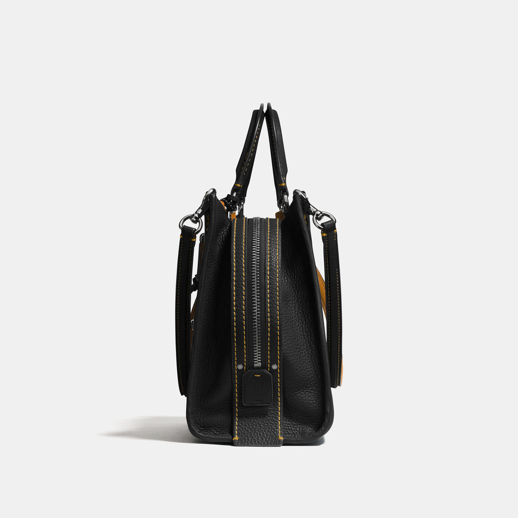 Glovetanned Pebble Leather Rogue Bag